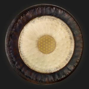 Blume des Lebens Gong