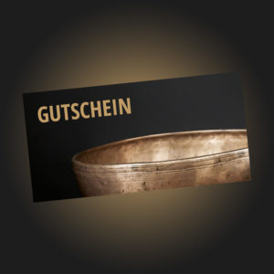 Klanggarten Praxis - Gutschein